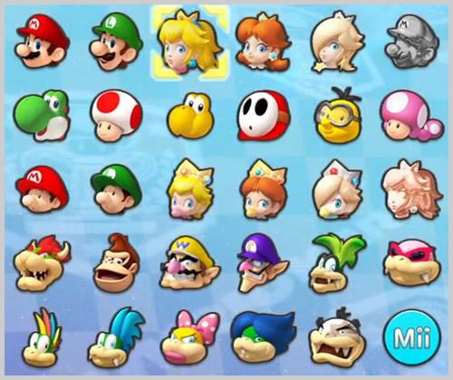 マリオ キャラクター 一覧 画像